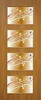 Дверное полотно ламинированные финиш пленкой Альта 3 с фотопечатью МДФ