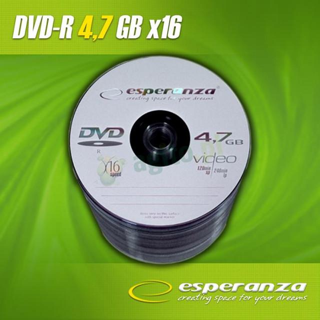 DVD - + R Esperanza 16 х (50 шт)