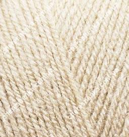 Нитки Alize Sekerim Bebe 599 слоновая кость, фото 2