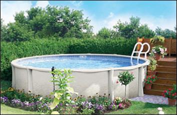Конструкции бассейнов и виниловые чаши овальные