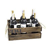 """Подставка для вина 6 бутылок """"Ящик"""""""