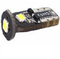 Светодиодная лампочка t10  12v 3smd 2835