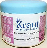Ультра увлажняющий крем с гиалуроновой кислотой, коллагеном и эластином, 500мл