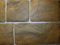 Фасадный камень Старый блок (коричневый)