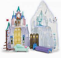 Замок Анны и ледяной дворец Эльзы