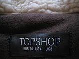 TOPSHOP женская байкерская куртка косуха, фото 4