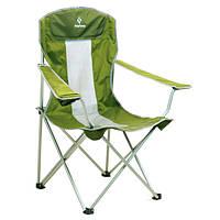 Кресло складное KingCamp Arms Chairin Steel Green KC3818