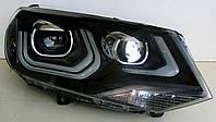Volkswagen Touareg NF оптика передняя / тюнинг фары с ДХО LD