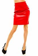 Женская юбка эко-кожа