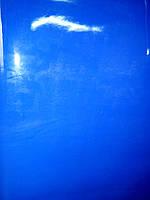 Натуральная кожа КРС Лак Электрик (синий цвет)