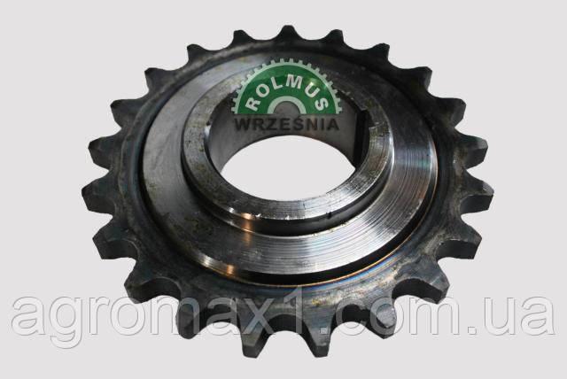 Цепное зубчатое колесо закаленное комбайна Anna Z644