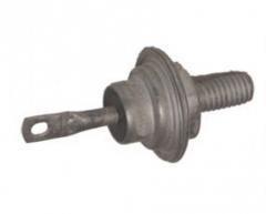 Д242А выпрямительный диод кремниевый, диффузионный (10A 200V)