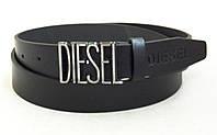 Кожаный мужской ремень для джинс DIESEL