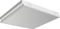 Корпус светильника встраиваемого ЛВО 595 х 595 мм для светодиодных LED ламп, с опаловым рассеивателем