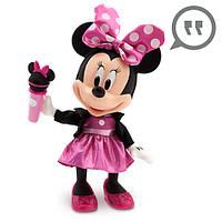 Минни Маус Поп Звезда говорящая и поющая 35 см Minnie Mouse Talking and Singing Pop Star Doll - 13''