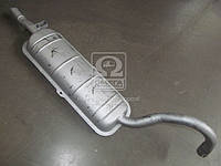 Глушитель ВАЗ 2106 (2101,-07) (2-х камерный блок,2 кожуха) штампосварной (Экрис). 2106-1201005