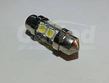 Світлодіодна софитная автолампи, 31mm, FT-10X31-8HP3 (48 Lm)