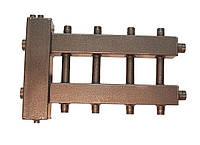 Гидравлический разделитель совмещенный с коллектором на 3 отвода.