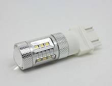 Светодиодная автолампа 3157, 15W (560Lm) Original Samsung LED chip (SMD2323) безцокольная двухконтактная