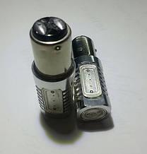 Светодиодная автолампа 1157-P21/5W-BAY15d  HP 7,5W (200Lm) Epistar (5 шт.) двухконтактная КРАСНАЯ