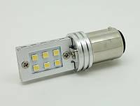 Светодиодная автолампа 1157 - P21/5W - BAY15d 12W (500Lm) Original Samsung LED chip SMD2323 двухконтактная