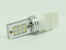 Светодиодная автолампа 3157 12W (500Lm) Original Samsung LED chip SMD2323) двухконтактная безцокольная