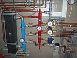 Гидравлический разделитель совмещенный с коллектором на 3 отвода., фото 2