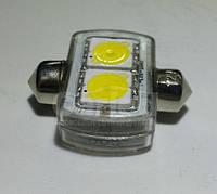 Светодиодная софитная автолампа, 31mm,  FT-1031-2UHP (Ceramic Substrate) (148 Lm), фото 1