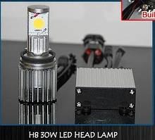 Светодиодная автолампа H8 30W (2000Lm) Led HEAD LAMP