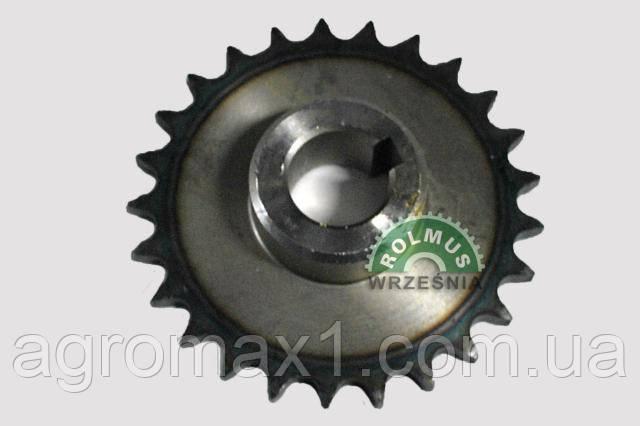 Цепное зубчатое колесо закаленное Z -25 для комбайна Anna Z644