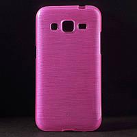 Чехол Samsung Galaxy Core Prime G360H, TPU Pearl Style, Малиновый