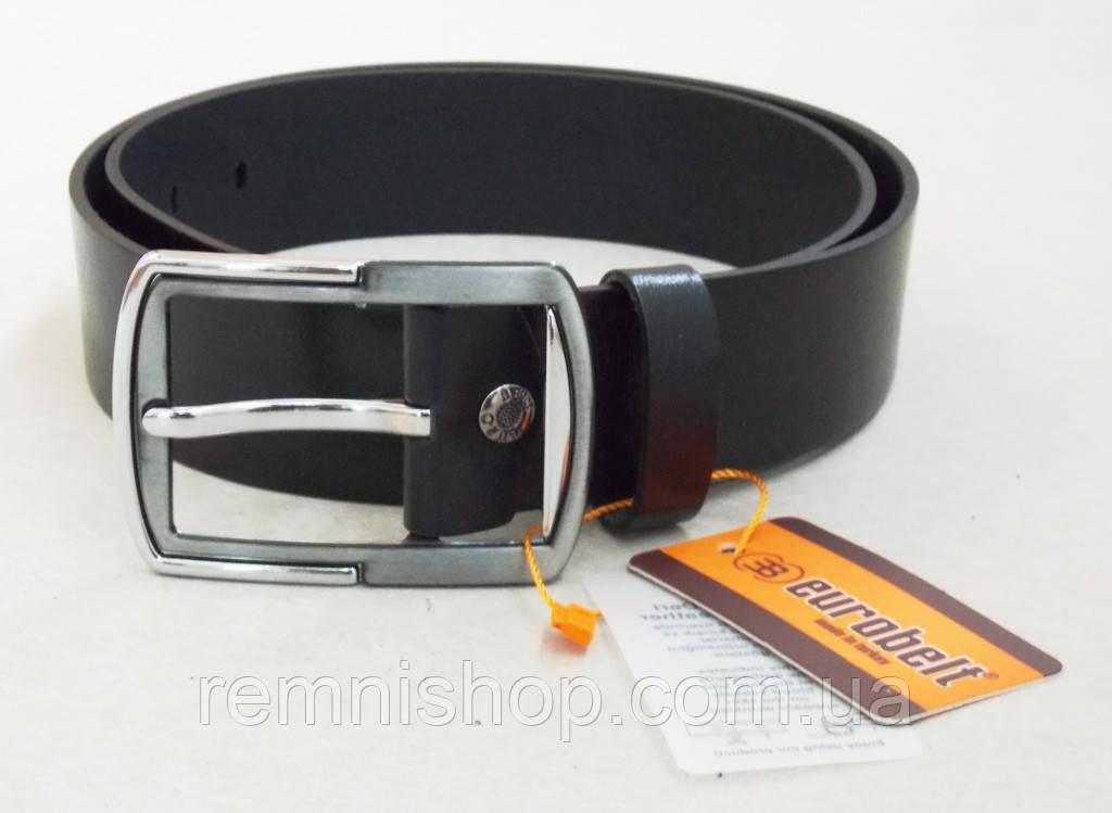 9e95cade950d Мужской кожаный ремень Eurobelt для джинс