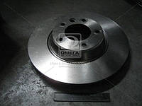 Диск тормозной AUDI Q7, VW TOUAREG передний, вентилируемый(производитель TRW) DF4760S