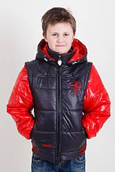 Весенне-осеняя куртка трасформер   для мальчика