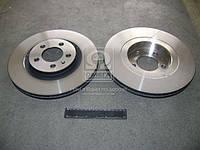 Диск тормозной AUDI A3, SEAT LEON, TOLEDO, SKODA, VW, вентилируемый(производитель TRW) DF2804