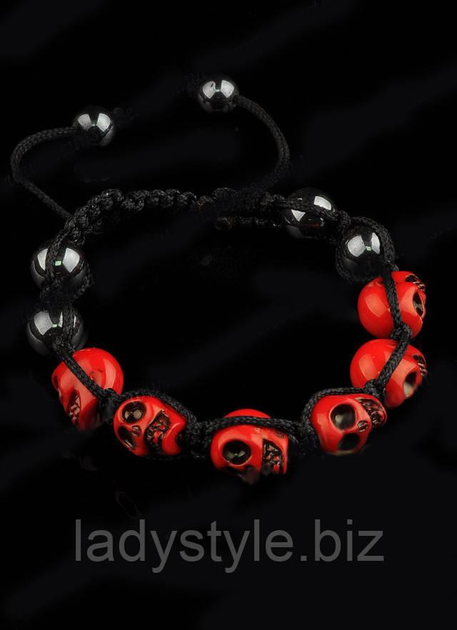браслеты шамбала купить, украшения с черепами, оригинальные браслеты