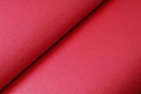 Кожзам самоклеющийся структурный красный 1,44 на 90см Южная Корея