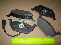 Колодка тормозная передний (с датчиком) (производитель Intelli) D137EI
