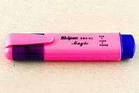"""Текстовыделитель """"Skiper Magik"""", розовый"""