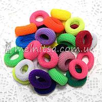 Резинки для волос махровые Калуш, цветные, 2 см