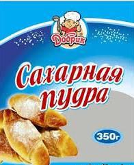 """Пудра сахарная """"Добрик"""", 350 г"""