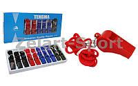Свисток судейский пластиковый C-7006 TENGMA (10 шт в цветной коробке, цена за 1шт)