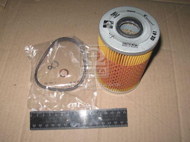 ⭐⭐⭐⭐⭐ Фильтр масляный (сменный элемент ) БМВ (производство  Knecht-Mahle) 5,6,7, OX41D