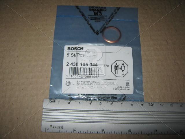 ⭐⭐⭐⭐⭐ Прокладка уплотн.форсунки БМВ E30/E28/E34 2.4D (производство  Bosch) АЛЬФА РОМЕО,155, 2 430 105 044