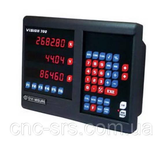 VI733N трехкоординатное устройство цифровой индикации