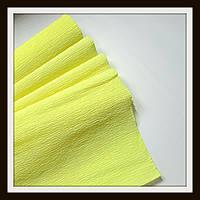 Гофрированная бумага 50*250 см Ярко-Желтая
