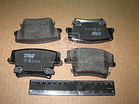 Колодка тормозная CHRYSLER заднего (производитель TRW) GDB4135