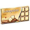 Шоколад молочно-белый Schogеtten Trilogia 100г Шогеттен трилогия с дробленным орехом 100г