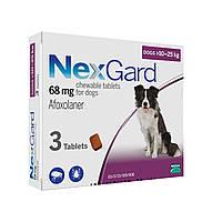Нексгард (NexGard L) таблетки от блох и клещей для собак 10 -25 кг.