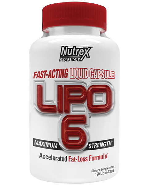 Nutrex Lipo-6 120 liqui-caps